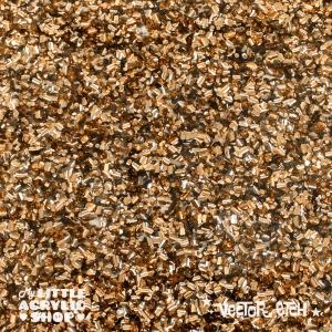Bronze Chunky Glitter Acrylic