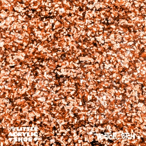 Copper Chunky Glitter Acrylic