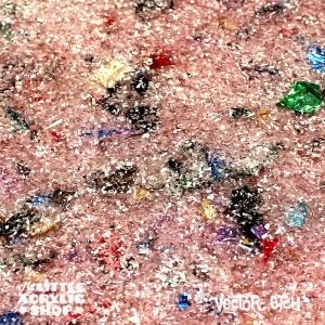 Frosty Chunky Glitter Acrylic