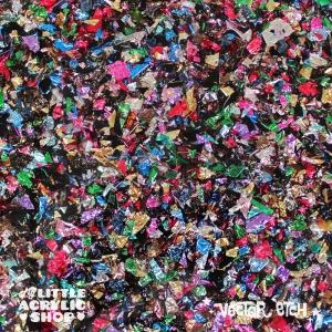 Kaleidoscope Chunky Glitter Acrylic