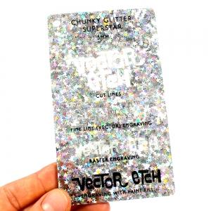 Superstar Chunky Glitter Acrylic