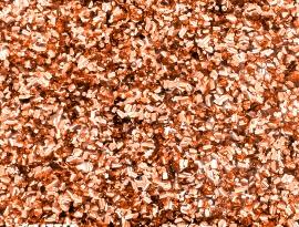 Copper Chunky Glitter Acrylic