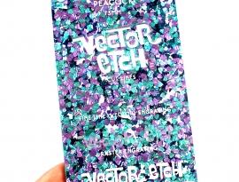 Peacock Chunky Glitter Acrylic
