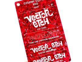 Red Chunky Glitter Acrylic
