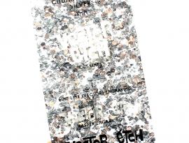 Silver Chunky Glitter Acrylic