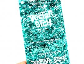 Turquoise Chunky Glitter Acrylic