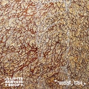Bronze Coral Acrylic