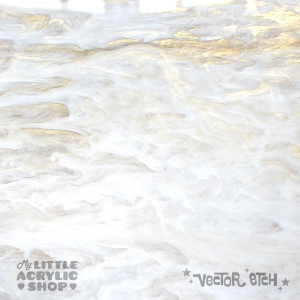 Misty Glimmer Acrylic