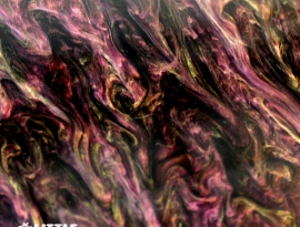 Goth Fuchsia Glimmer Acrylic Close Up