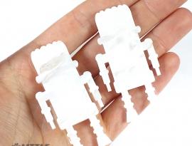 Misty Glimmer Acrylic Sample Back