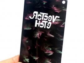 Pastel Goth Glimmer Acrylic Sample Back