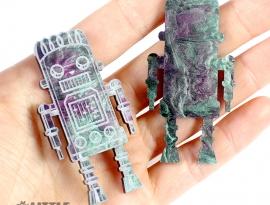 Pastel Goth Glimmer Acrylic Sample
