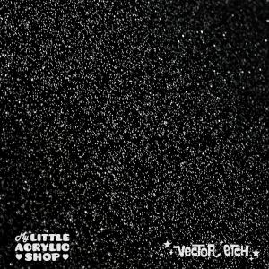 Black Premium Glitter