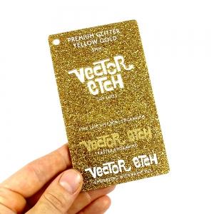 Yellow Gold Premium Glitter