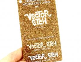 Amber Premium Glitter