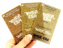 Premium Glitter Acrylic Samples