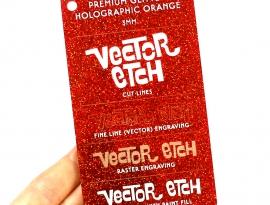 Holographic Orange Premium Glitter