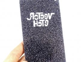 Lead Grey Premium Glitter