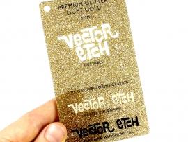 Light Gold Premium Glitter