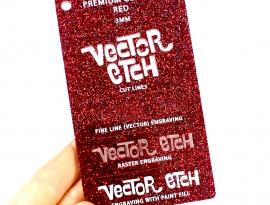 Red Premium Glitter
