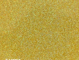 Amber Glitter Single Sided Acrylic