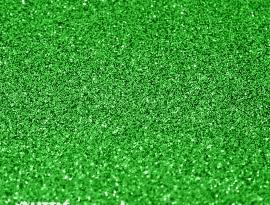 Grass Green Glitter Single Sided Acrylic