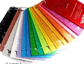 Glitter Single Sided Acrylic Samples