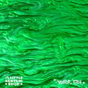 Green Marble Acrylic