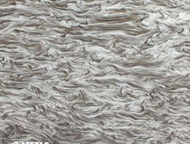 Silver Brown Marble Acrylic
