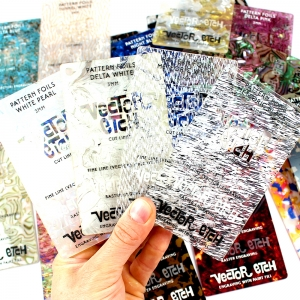 Pattern Foil Acrylic Samples