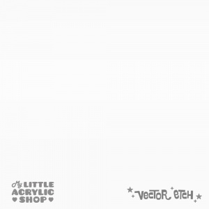 Matt Bright Silver Pearlescent Acrylic