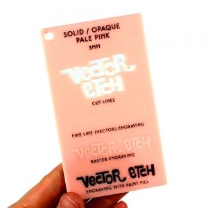 Pale Pink Skin Tone Acrylic