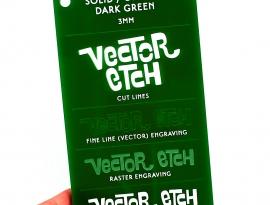 Dark Green Solid Acrylic