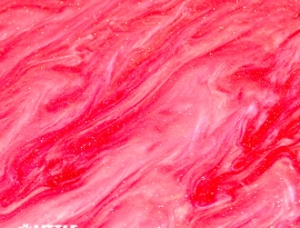 Rose Red Sparkle Swirls Close Up