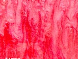 Rose Red Sparkle Swirls
