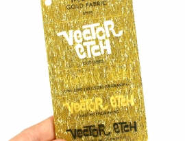 Gold Fabric Specialty Acrylic Sample