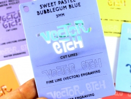 Bubblegum Blue Sweet Pastel
