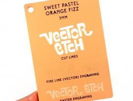Orange Fizz Sweet Pastel