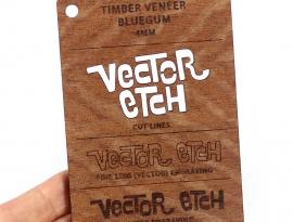 Bluegum Veneer Sample
