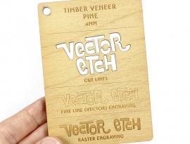 Pine Veneer Sample