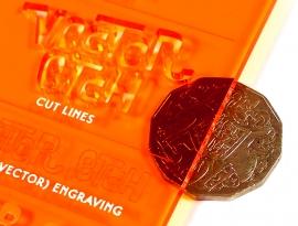 Amber Translucent Acrylic