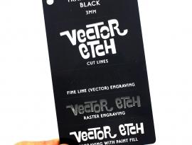Black Translucent Acrylic