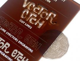 Brown Translucent Acrylic