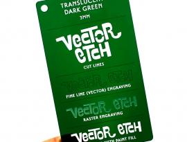 Dark Green Translucent Acrylic