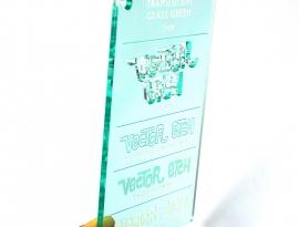 Glass Green Translucent Acrylic