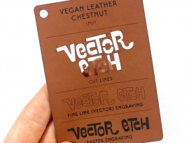 Chestnut Vegan Leather