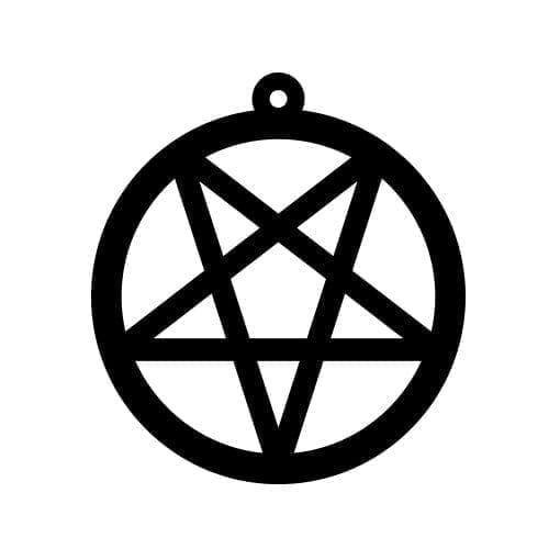 24feae3c05f Pentagram - Vector Etch